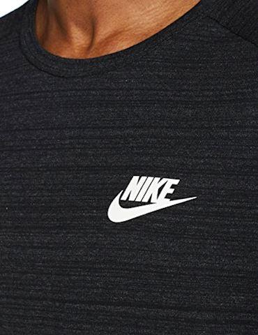 Nike T-Shirt NSW Advance 15 Knit - Black/Heather/White Image 3