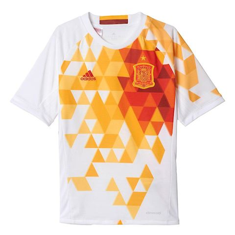 adidas Spain Kids SS Away Shirt 2016 Image