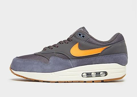 Nike Air Max 1 Grey, Orange, Carbon & White Image