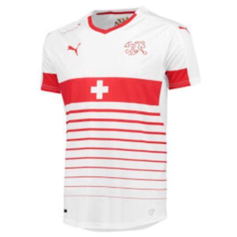 Puma Switzerland Mens SS Away Shirt 2016 Image