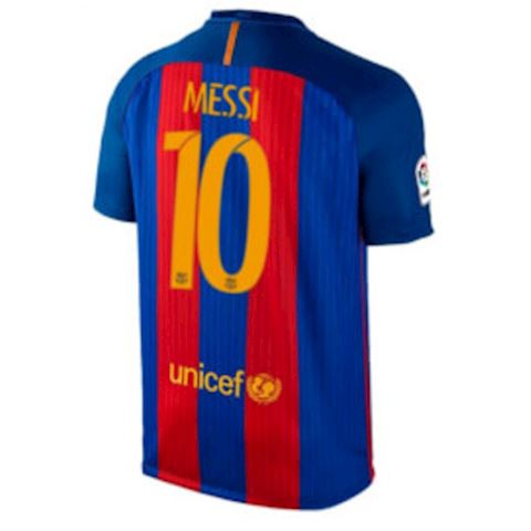 Nike Barcelona Kids SS Home Shirt 2016/17 Image 2