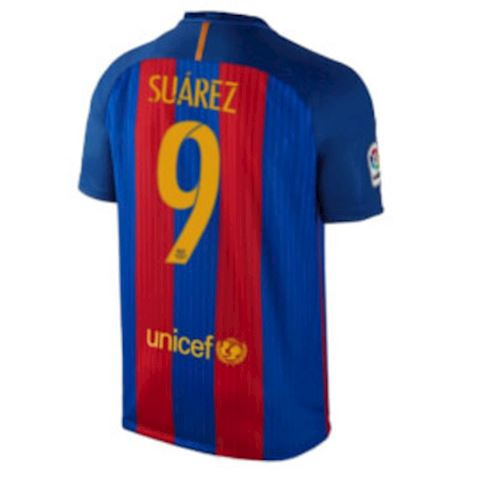 Nike Barcelona Kids SS Home Shirt 2016/17 Image 3