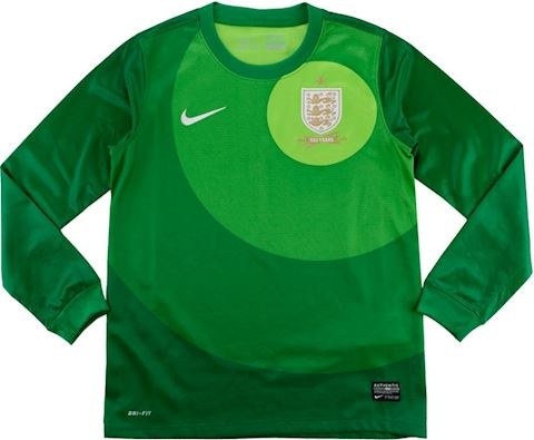 Nike England Kids LS Goalkeeper Home Shirt 2013 Image