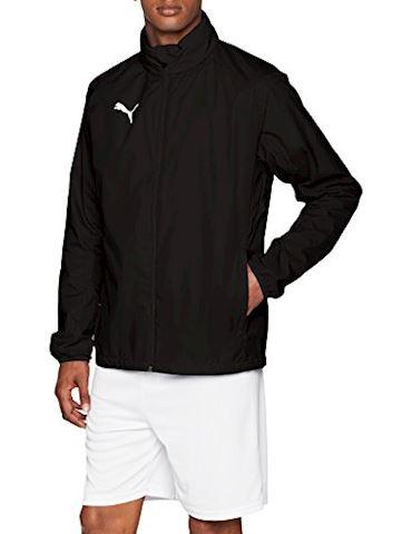 b127be65ac47d5 PUMA Rain Jacket LIGA Core - PUMA Black/White | 655304_03 | FOOTY.COM
