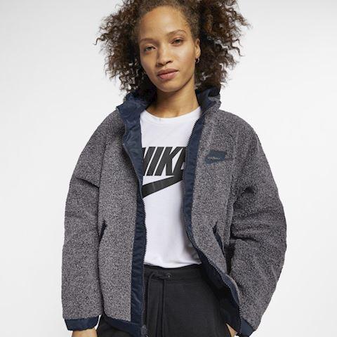 Nike Sportswear NSW Sherpa Women's Reversible Jacket - Grey Image