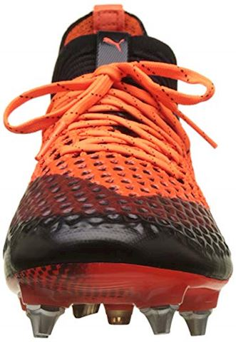 PUMA Future 2.1 Netfit SG Uprising - PUMA Black/Shocking Orange Image 4