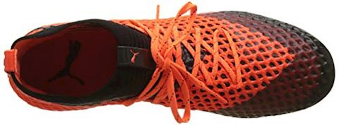 PUMA Future 2.1 Netfit SG Uprising - PUMA Black/Shocking Orange Image 7