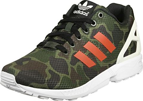 promo code 5cba5 1cdc3 adidas ZX FLUX men's Shoes (Trainers) in green