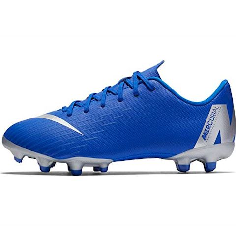 Nike Jr. Mercurial Vapor XII Academy Younger/Older Kids'Multi-Ground Football Boot - Blue Image 6