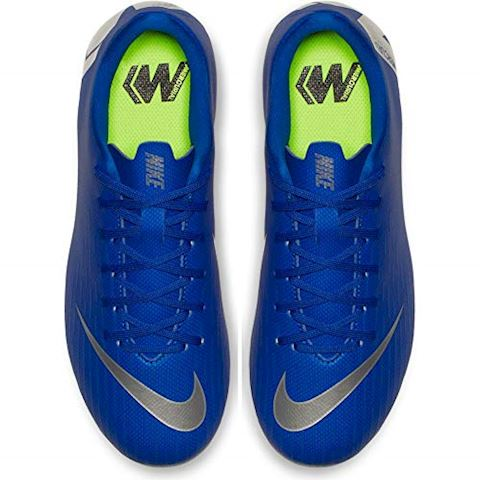 Nike Jr. Mercurial Vapor XII Academy Younger/Older Kids'Multi-Ground Football Boot - Blue Image 7