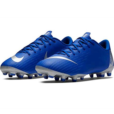 Nike Jr. Mercurial Vapor XII Academy Younger/Older Kids'Multi-Ground Football Boot - Blue Image 8