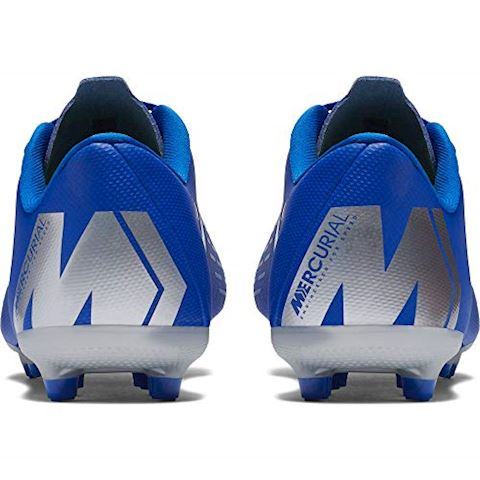 Nike Jr. Mercurial Vapor XII Academy Younger/Older Kids'Multi-Ground Football Boot - Blue Image 9