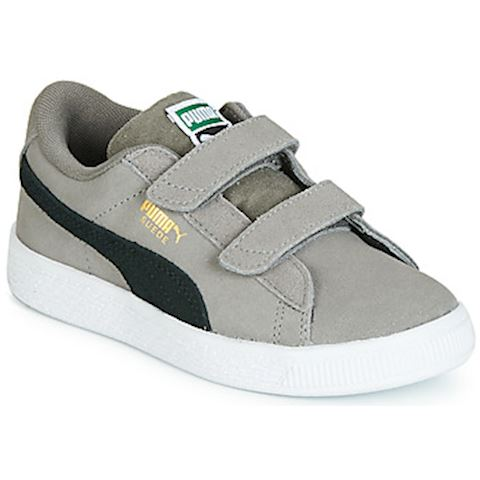 378fe72bee7 Puma PS SUEDE CLASSIC V.CHAR-BL boys's Shoes (Trainers) in Grey ...