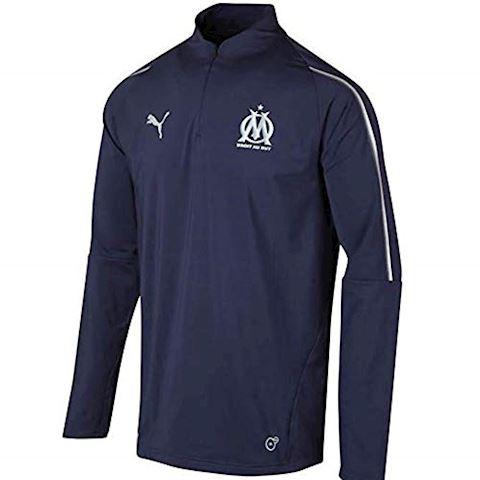Puma Marseille Training Shirt 1/4 Zip - Peacoat Image