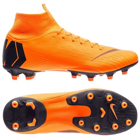 Nike Mercurial Superfly VI Pro AG-PRO Artificial-Grass Football Boot - Orange Image
