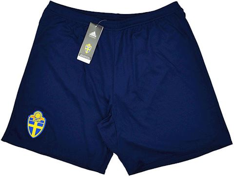 adidas Sweden Mens Away Shorts 2016 Image