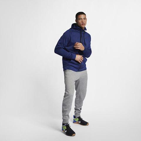 Nike Dri-FIT Therma Men's Full-Zip Training Hoodie - Blue Image 2