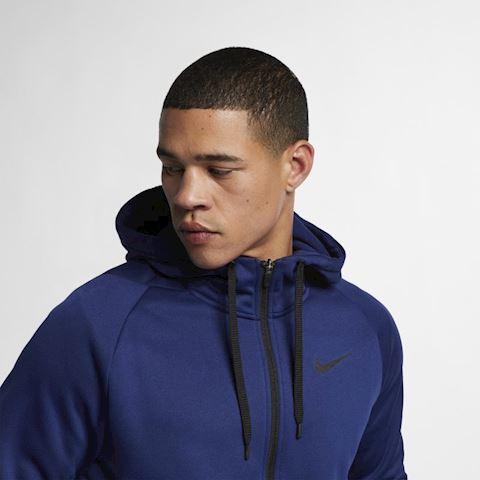 Nike Dri-FIT Therma Men's Full-Zip Training Hoodie - Blue Image 5