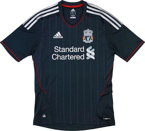 New Balance Liverpool Kids SS Away Shirt 2011/12 Image