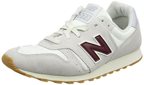 New Balance  ML373  women's Shoes (Trainers) in White Image 4