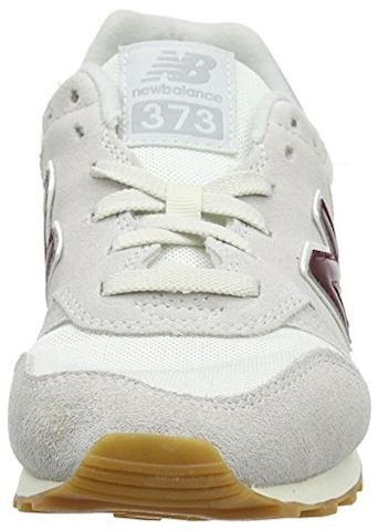 New Balance  ML373  women's Shoes (Trainers) in White Image 7