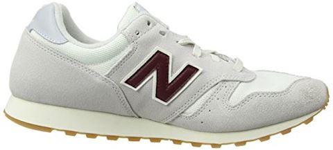New Balance  ML373  women's Shoes (Trainers) in White Image 9