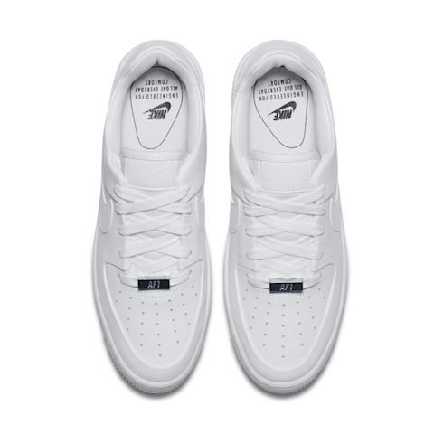 brand new ed71e 19212 Nike Air Force 1 Sage Low Women's Shoe - White