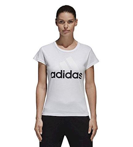 adidas Essentials Linear Slim Tee Image 2