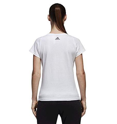 adidas Essentials Linear Slim Tee Image 4