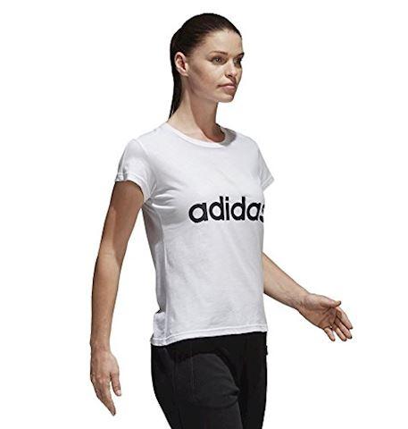 adidas Essentials Linear Slim Tee Image 5