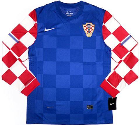 Nike Croatia Mens LS Player Issue Away Shirt 2010 Image