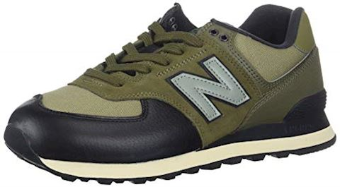 lowest price db99e 7cacf New Balance ML574 men's Shoes (Trainers) in Green