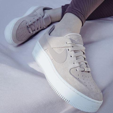 Nike Air Force 1 Sage Low Women's Shoe - Cream Image 4