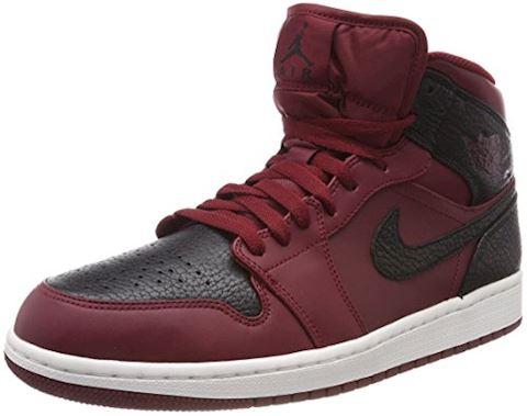 Nike Air Jordan 1 Mid Men's Shoe - Red Image