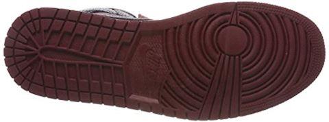 Nike Air Jordan 1 Mid Men's Shoe - Red Image 3