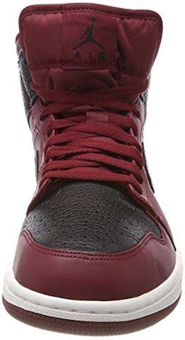 Nike Air Jordan 1 Mid Men's Shoe - Red Image 4