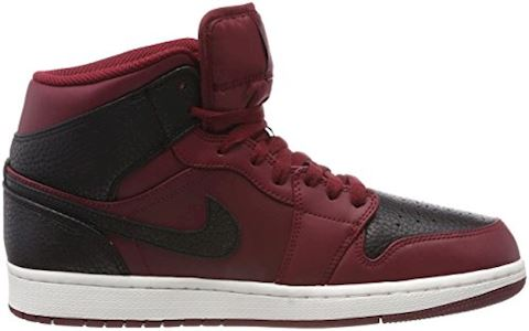 Nike Air Jordan 1 Mid Men's Shoe - Red Image 6