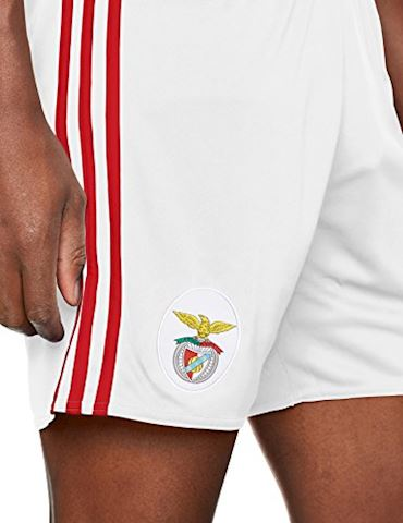 adidas Benfica Mens Home Shorts 2017/18 Image 3