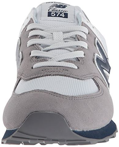 New Balance  ML574  men's Shoes (Trainers) in Grey Image 4