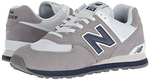 New Balance  ML574  men's Shoes (Trainers) in Grey Image 5