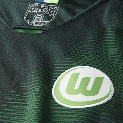 Nike Wolfsburg Mens SS Home Shirt 2018/19 Image 3