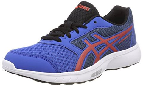 Asics  STORMER 2 GS  boys's Sports Trainers (Shoes) in Blue Image