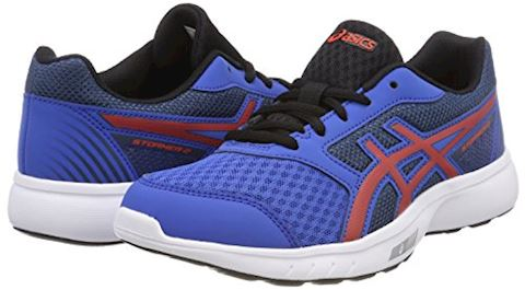 Asics  STORMER 2 GS  boys's Sports Trainers (Shoes) in Blue Image 5