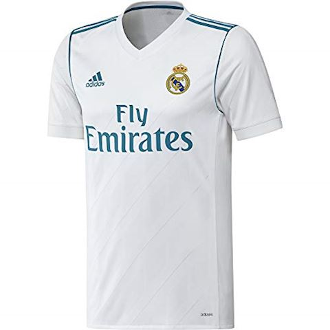 adidas Real Madrid Mens SS Player Issue Home Shirt 2017/18 Image