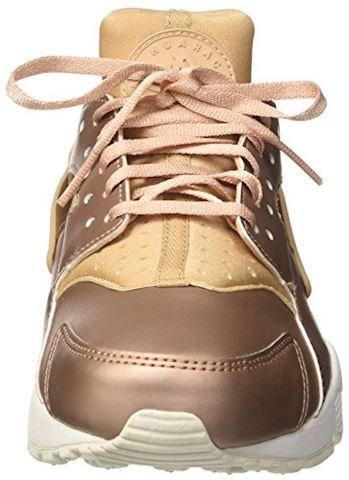 Nike Air Huarache Premium Women's Shoe - Brown Image 4