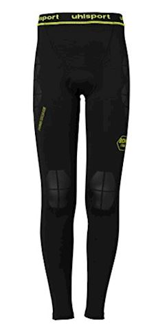 Uhlsport Bionikframe Baselayer Tights - Black/Fluo Yellow Image