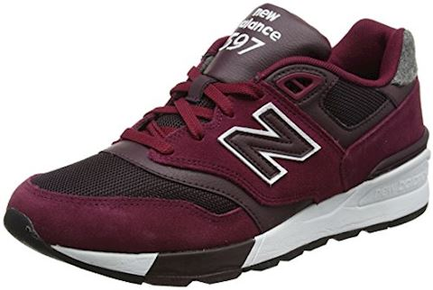 New Balance  ML597  men's Shoes (Trainers) in Red Image