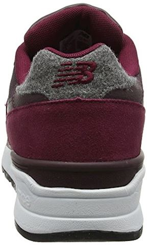New Balance  ML597  men's Shoes (Trainers) in Red Image 2