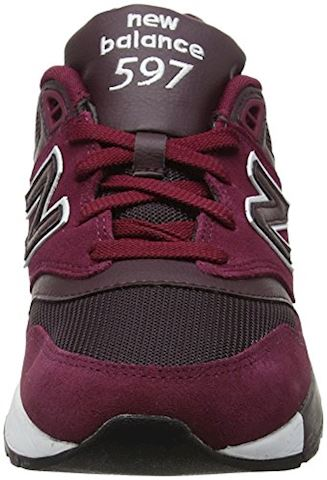 New Balance  ML597  men's Shoes (Trainers) in Red Image 4