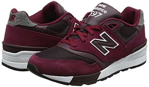 New Balance  ML597  men's Shoes (Trainers) in Red Image 5